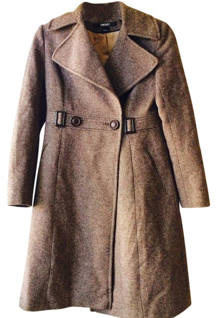 Preload https://img-static.tradesy.com/item/20468584/dkny-wool-pea-coat-size-4-s-0-1-650-650.jpg