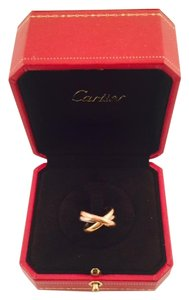 Cartier TRINITY DE CARTIER RING, SM White, yellow, pink gold size 5.5