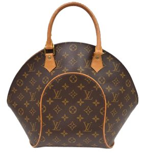 Louis Vuitton Ellipse Mm Domed Monogram Satchel in Brown
