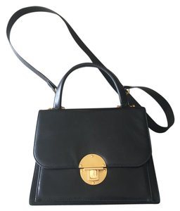 Donna Karan Leather Vintage Shoulder Bag