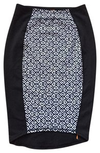 lucy high expectations printed pencil skirt
