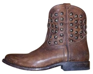 Frye Brown and gold Boots
