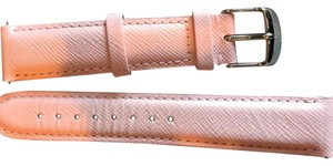 Michele Michele 18 mm Leather Band - Strap Rose Ballerine Color