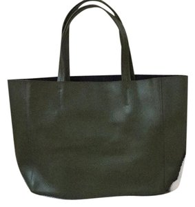 Tote in Olive green