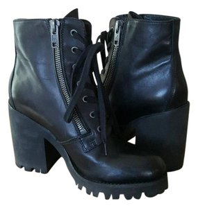 Ash Footwear Leather Black Boots