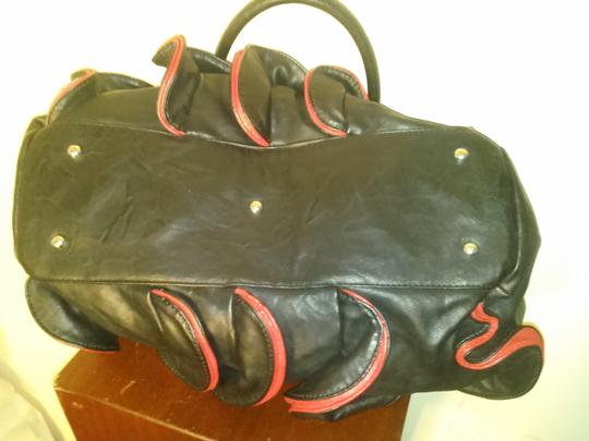 Other Satchel in black red Image 3