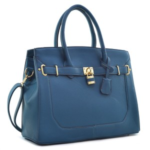 Other Classic The Treasured Hippie Large Handbags Vintage Satchel in Teal Blue