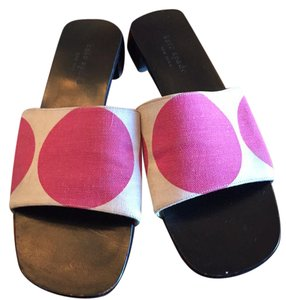 Kate Spade Cream/white and pink Sandals
