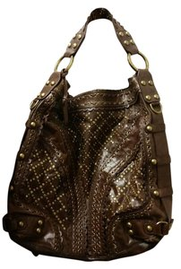 Isabella Fiore Large Handbags Stud Muffin Rare Hobo Bag