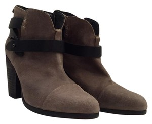 Rag & Bone Taupe and black Boots