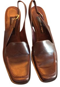 Etienne Aigner Brown Pumps