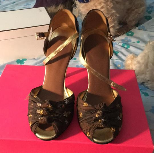 Betsey Johnson brown and gold Formal Image 4