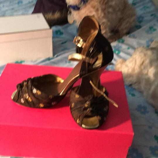 Betsey Johnson brown and gold Formal Image 5