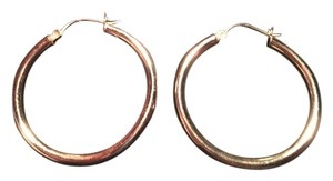 14 kt. gold hoop earrings