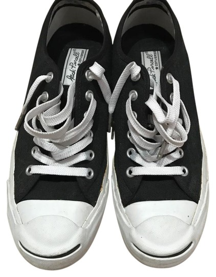 Jack Purcell black canvas Athletic Image 0