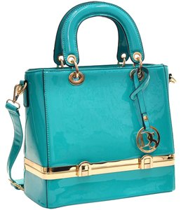Other Classic Large Handbags The Treasured Hippie Vintage Satchel in Blue