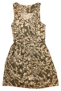 Broadway & Broome short dress Grey Madewell Floral & With Pockets on Tradesy