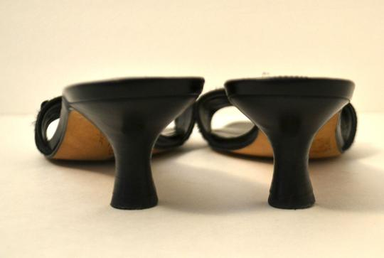 Arturo Chiang Black Sandals Image 3