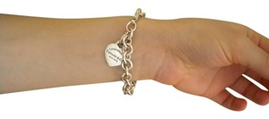 Tiffany & Co. Tiffany & Co. Engravable Heart Bracelet