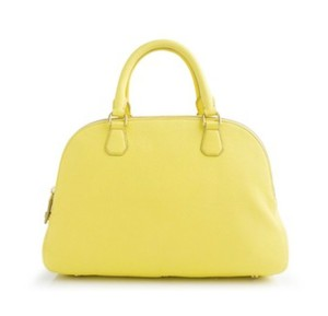 J.Crew Biennial Leather Satchel in Yellow