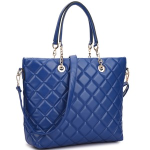 Other Classic Bags The Treasured Hippie Large Handbags Desibner Inspired Quilted Bags Tote in Blue