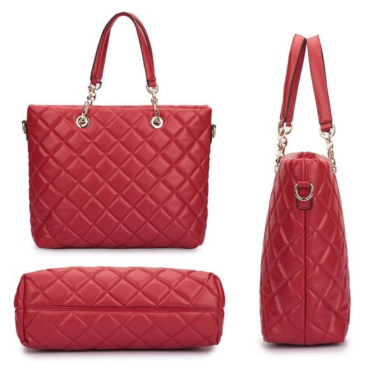 Other Classic Bags The Treasured Hippie Large Handbags Desibner Inspired Quilted Bags Tote in Blue Image 2