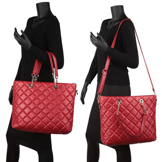 Other Classic Bags The Treasured Hippie Large Handbags Desibner Inspired Quilted Bags Tote in Blue Image 3