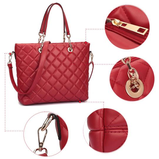 Other Classic Bags The Treasured Hippie Large Handbags Desibner Inspired Quilted Bags Tote in Blue Image 5