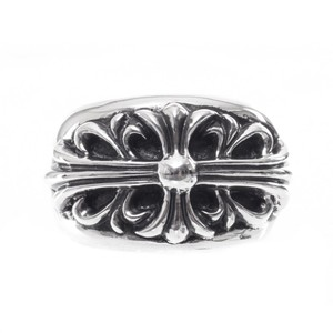 Chrome Hearts CH FLORAL CROSS RING MULTIPLE SIZES