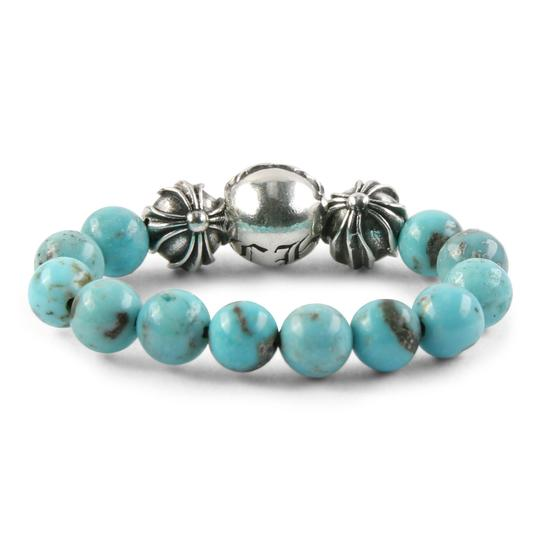 Chrome Hearts CH PLUS BALL TURQUOISE BEAD RING MULTIPLE SIZES Image 2