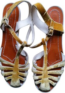 Marc Jacobs Gold Sandals