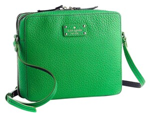 Kate Spade Trendy Bold Leather Cross Body Bag