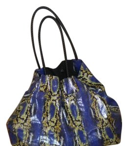 Big Buddha Weekend Large Tote in Shades of blue...green......black