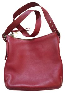 Coach Leather Messanger Cross Body Bag
