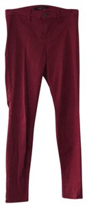 J Brand Skinny Pants Red