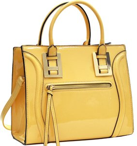 Other Classic Bags The Treasured Hippie Large Handbags Purse Vintage Satchel in Yellow