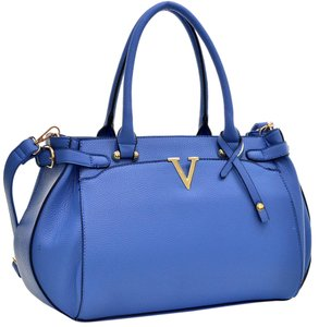 Other Classic The Treasured Hippie Large Handbags Vintage Satchel in Blue
