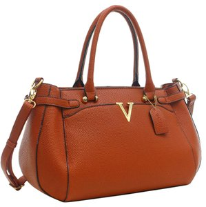 Other Classic The Treasured Hippie Large Handbags Vintage Satchel in Brown