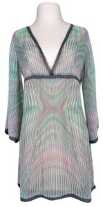 CAbi Striped Sheer Tunic