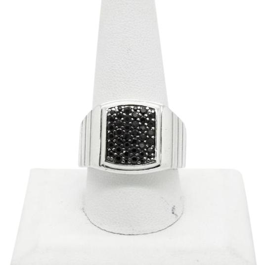 Preload https://img-static.tradesy.com/item/20470135/sterling-silver-black-sapphire-square-sizable-ring-0-1-540-540.jpg