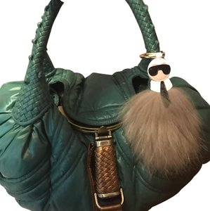 Fendi Tote in Emerald Green