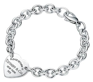 Tiffany & Co. RETURN TO TIFFANY Heart Tag Bracelet 9TRC