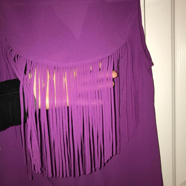 sexy jeans couture Top purple Image 2