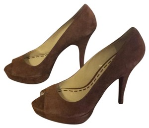 Enzo Angiolini brown Platforms