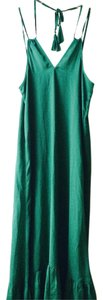 Green Maxi Dress by J.Crew