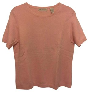 Lord & Taylor Cashmere Short Sleeve Sweater