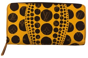Louis Vuitton Monogram Yayoi Kusama Pumpkin Dots Wallet