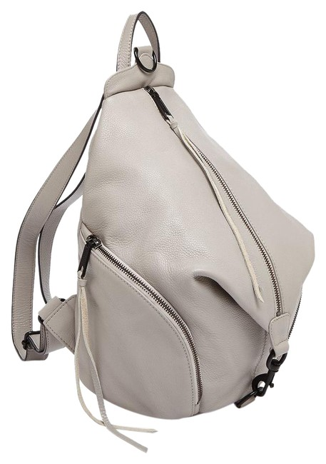 Item - Medium Julian Grey with Gold Hardware Leather Backpack