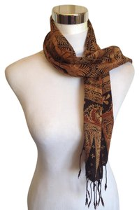 Other Brown Silk Scarf
