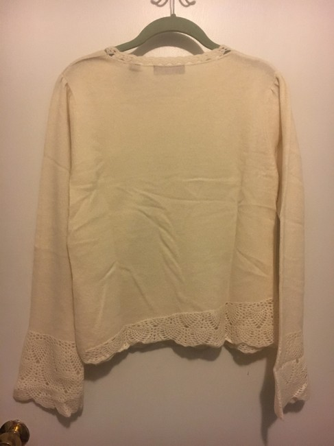 Context Cashmere White Sweater Image 1